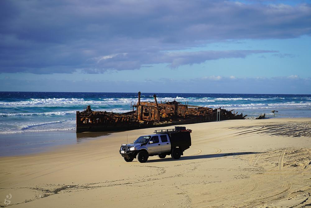 S.S. Maheno Fraser Island