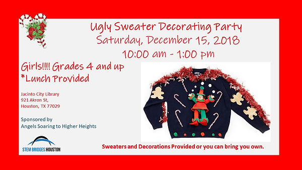 Ugly Sweater Sweater Decorating Party.jp