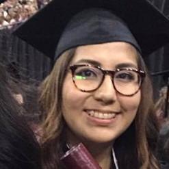 Jasmin Diaz - Masters Degree Student