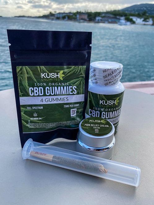 Kush Unlimited Organic Gummies
