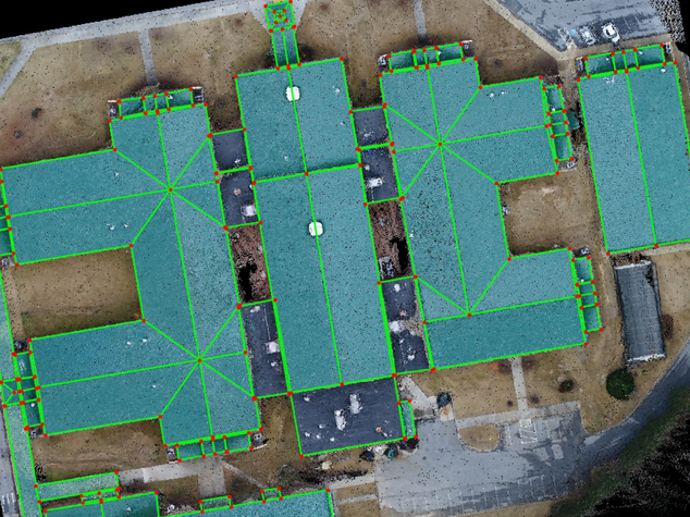 Aerial Roof Mapping