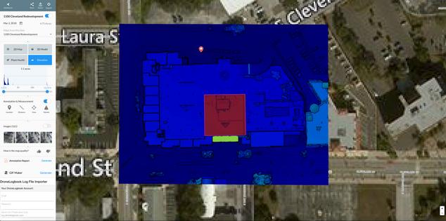Elevation Site Data