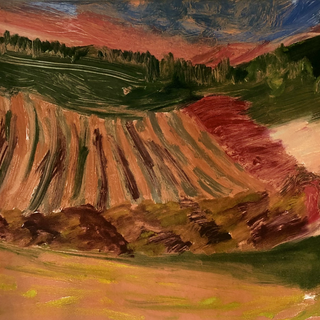 """Untitled 6, 12"""" x 9"""", 1990s, $100"""