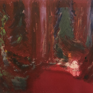 """Untitled 8, 12"""" x 9"""", 1990s, $100"""