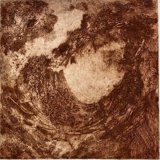 "Mars 1, 12"" x 12"", 2000, $100"