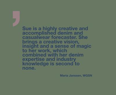 Maria Janssen, Creative Director, WGSN