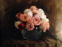 Rose still-life