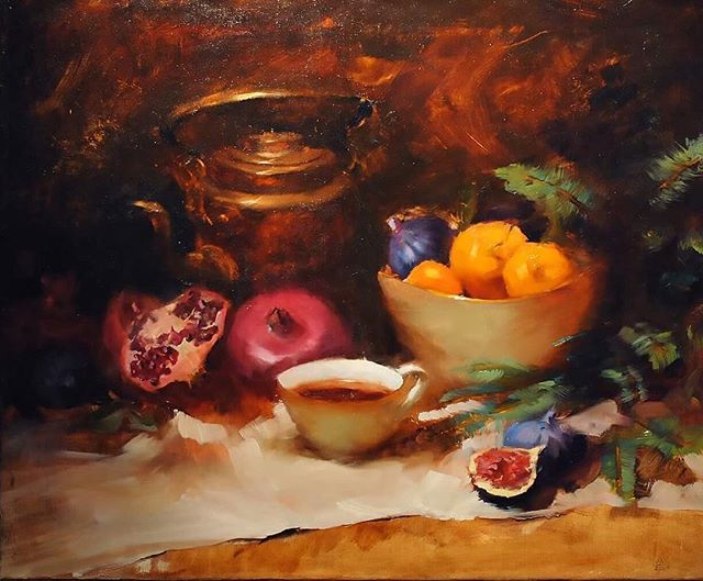 Copper and fruits