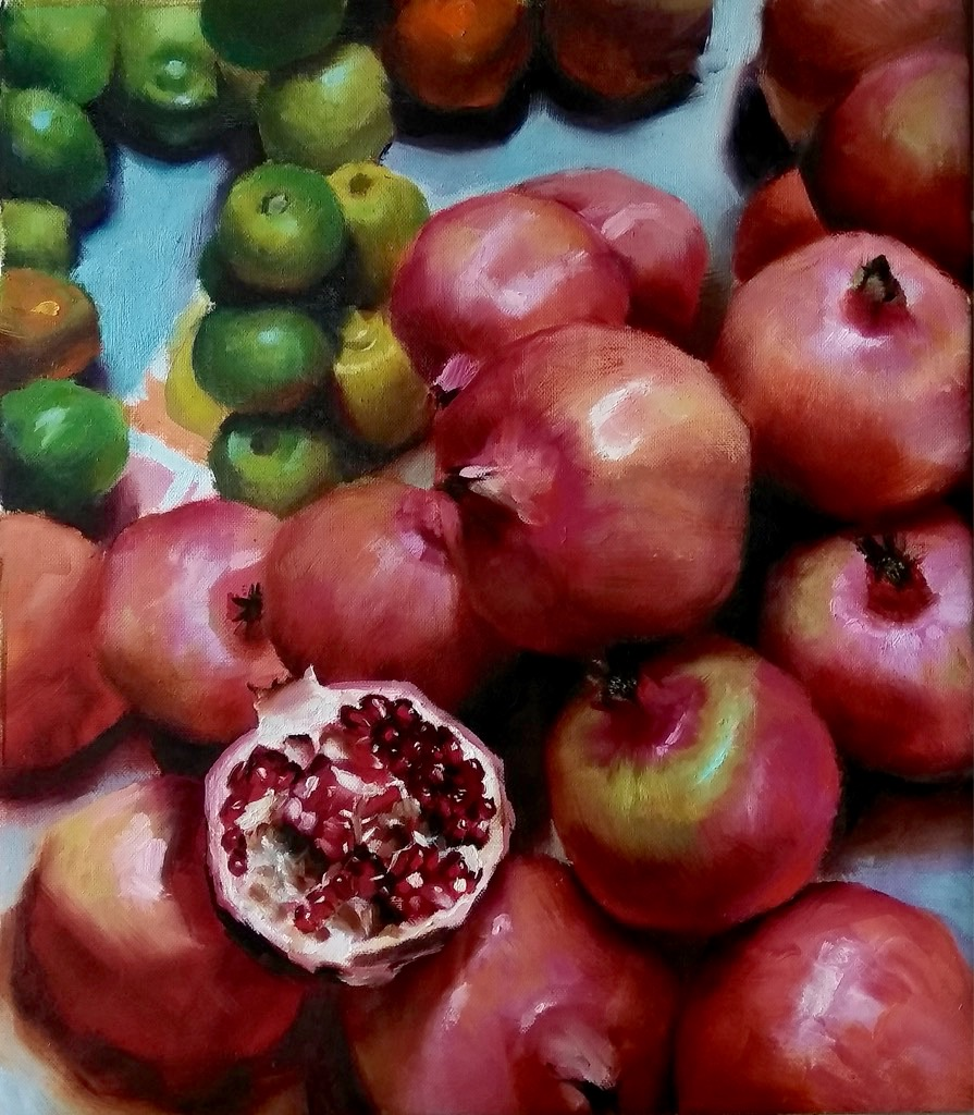 The pomegranate obsession