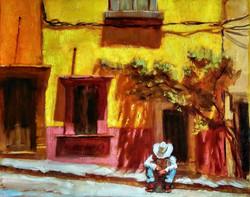 San Miguel de Allende. High noon