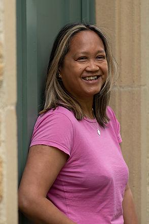 Tina pic me front door.jpg