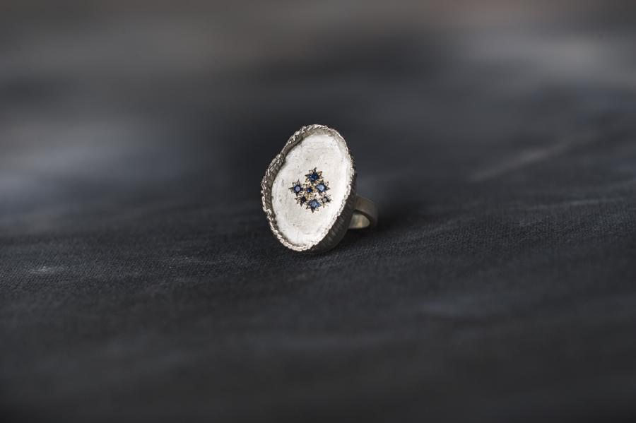 Nina_Baker Mystic Capers_large sapphire fringe ring.jpg