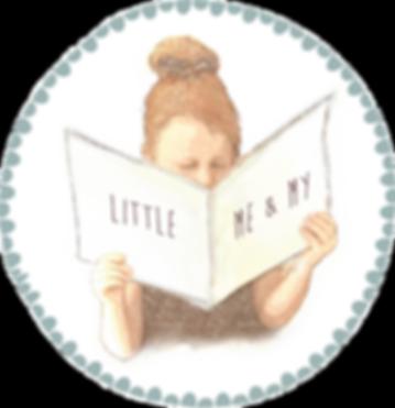 Little Me & My | www.littlemeandmy.com | logo stamp