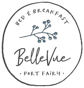 Port Fairy BNB BelleVue logo Accommodation Bed & Breakfast