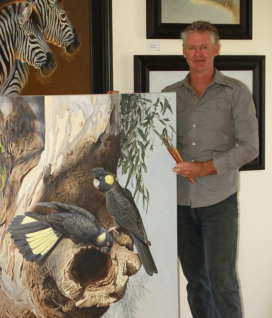 Brett Jarrett Wildlife Artist Narrawong