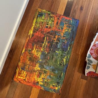 6. Acrylic on Canvas