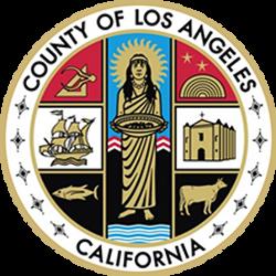 Los Angeles county, California USA