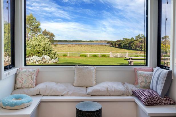 1. Bay Window Cushions