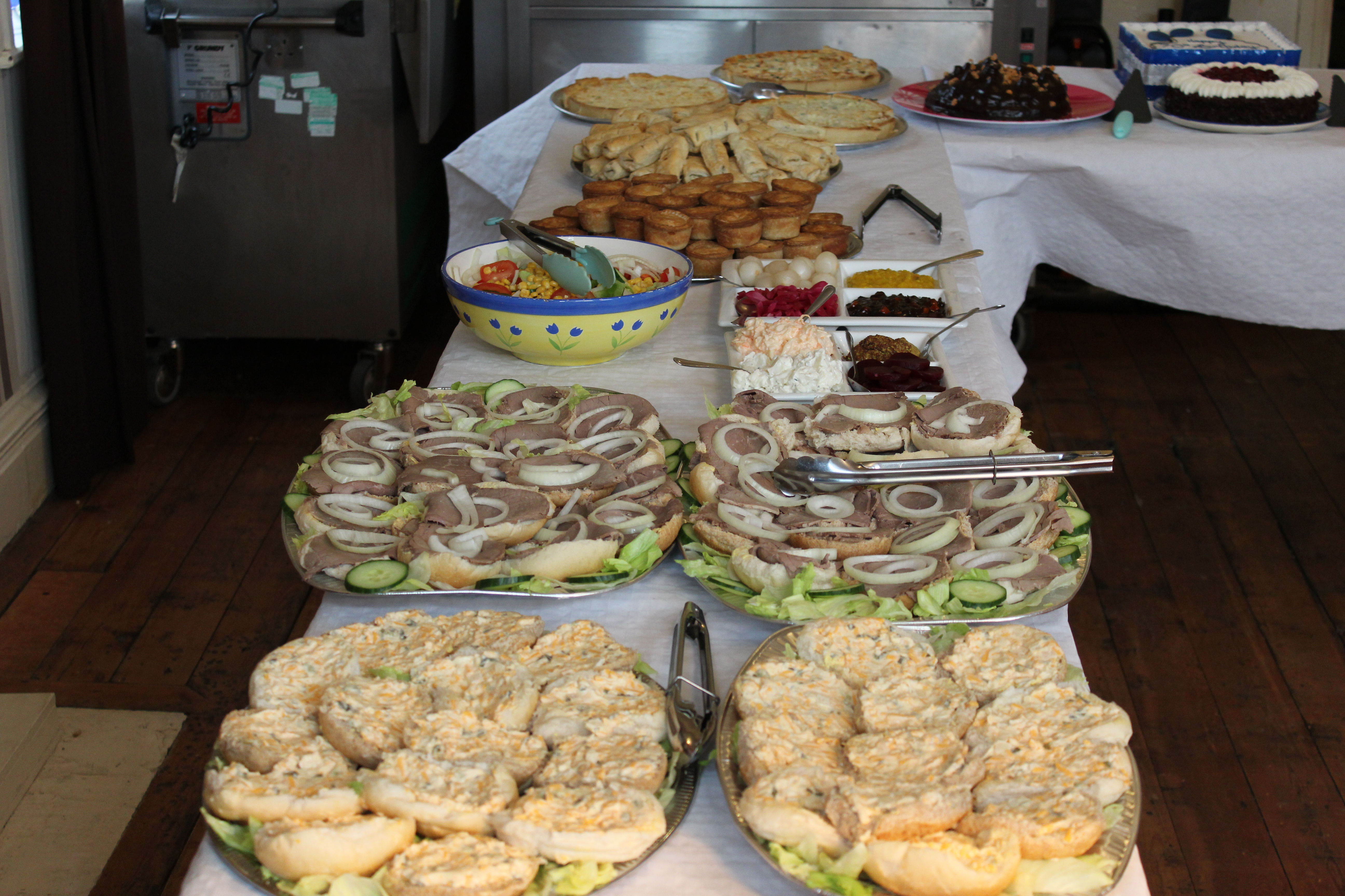 The Lightcliffe Club Catering