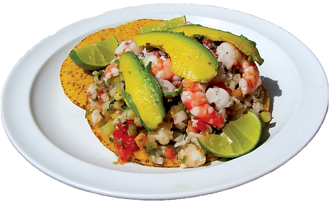 kisspng-tostada-ceviche-toast-vegetarian
