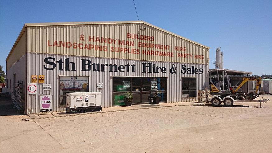 South Burnett Hire & Sales Building