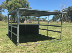 Open Rail shelter