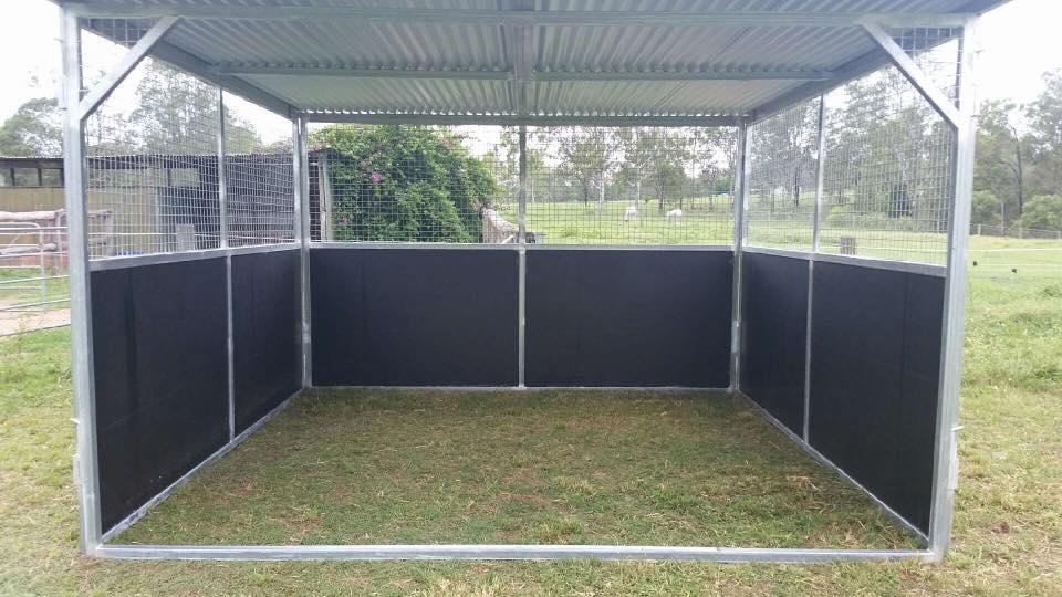 Standard Paddock Shelter No Yard