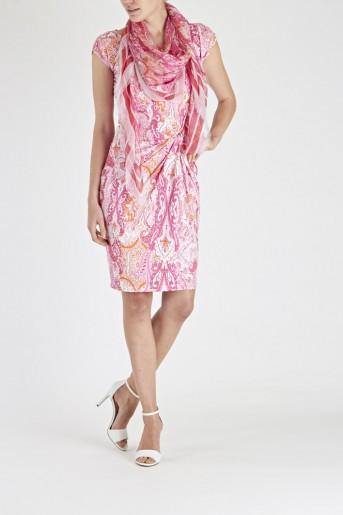 Laurél Sorbet Jersey Dress