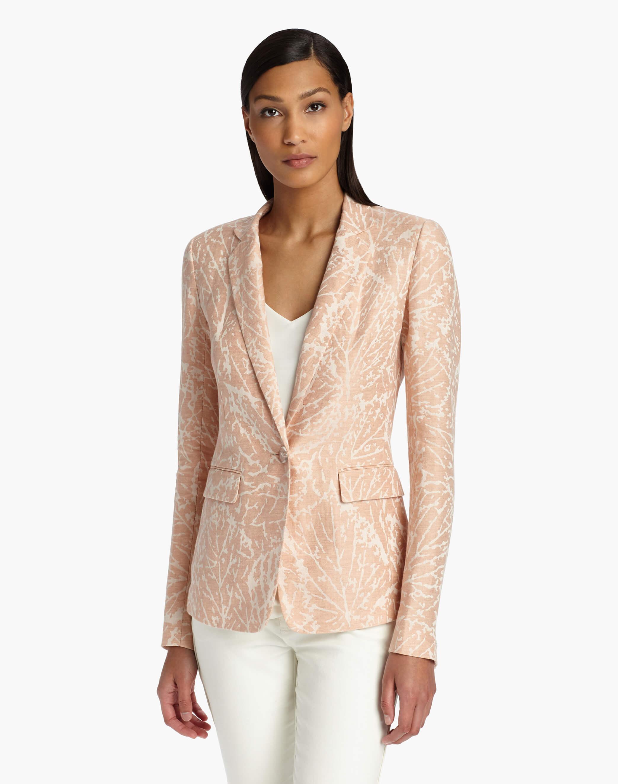 Lafayette 148 NY Linen Jacket