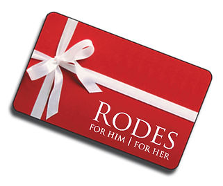 Rodes Gift Card