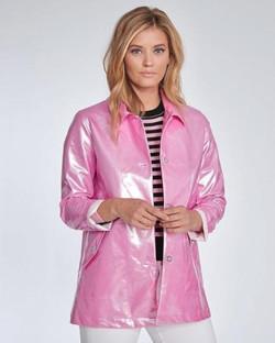 Elliott Lauren Pink Raincoat