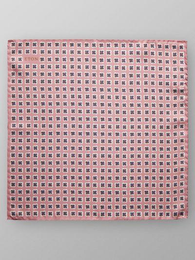 Eton Pink Pocket Silk