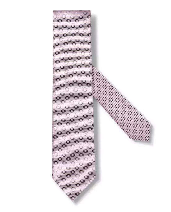 Ermenegildo Zegna Pink Silk Tie