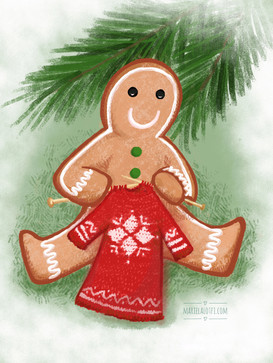 Sweater and gingerbread