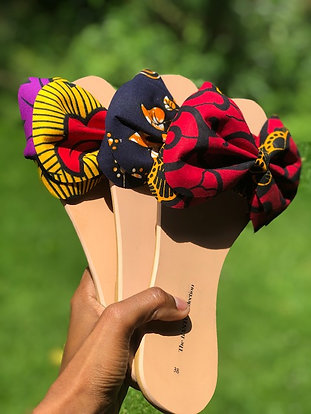 EASY SLIDE BOW FLIP-FLOPS
