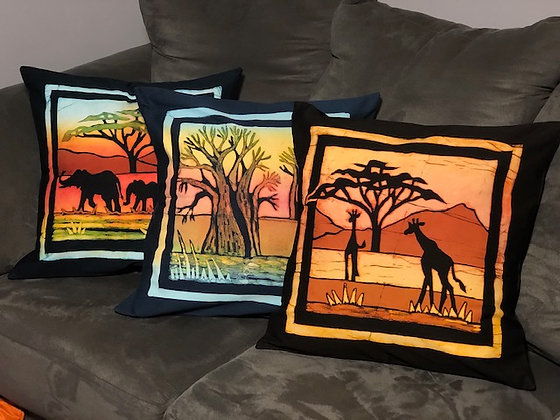 SILHOUETTE PILLOW COVERS