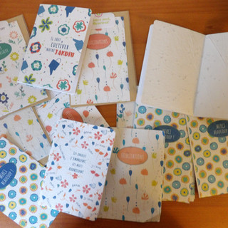 Collection à planter 2018 - Editions Papier Fleur -