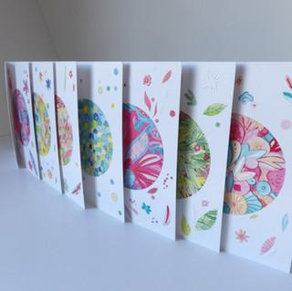 "Collection cartes ""Ikebana"" - Editions Zazous -"