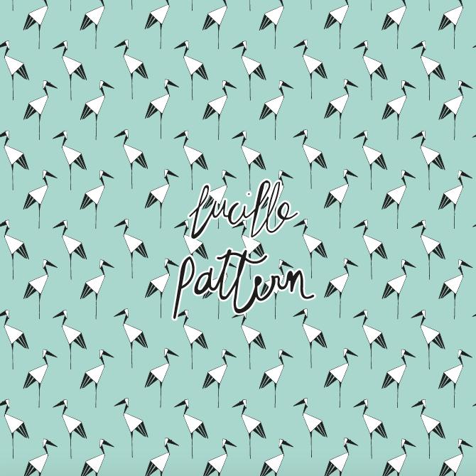 surface pattern designer   créatrice de motifs   lucillepattern   illustratrice   veilhan   design textile   mode   fashion   patterns   papeterie   stationery   déco   carterie   patternbank   graphiste   textile   textile addict   all over   illustrations   designer   cymé   tissu   uniqlo   agent paper   kit origami  origami art   papier plié   grue