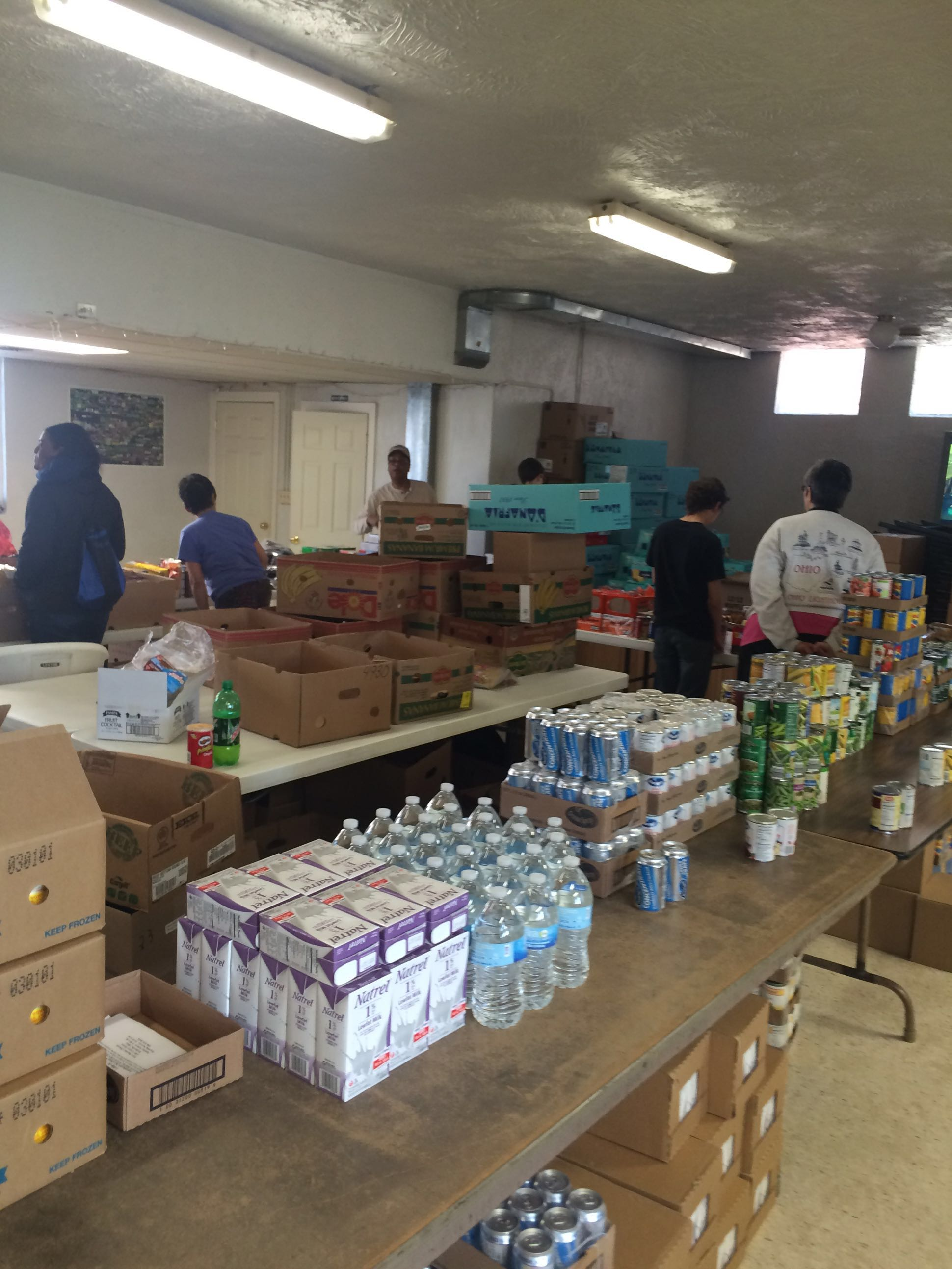 Food Pantry Preparation
