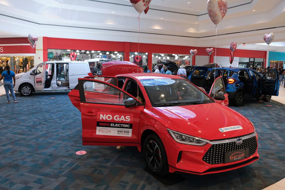 Mall at Marathon EV Car Show
