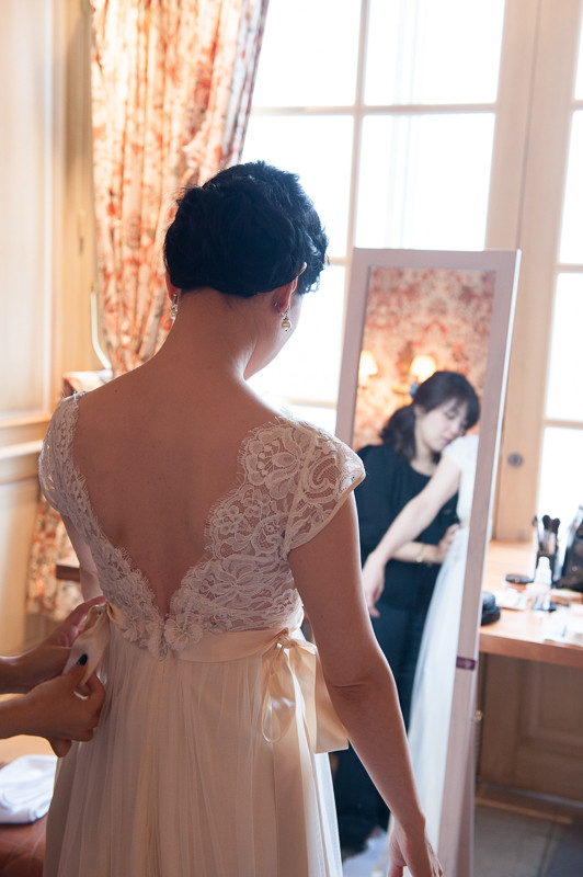 ウェディングドレスの丈の長さ