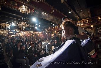 ハレノヒ写真のイベント撮影 ヘアサロン