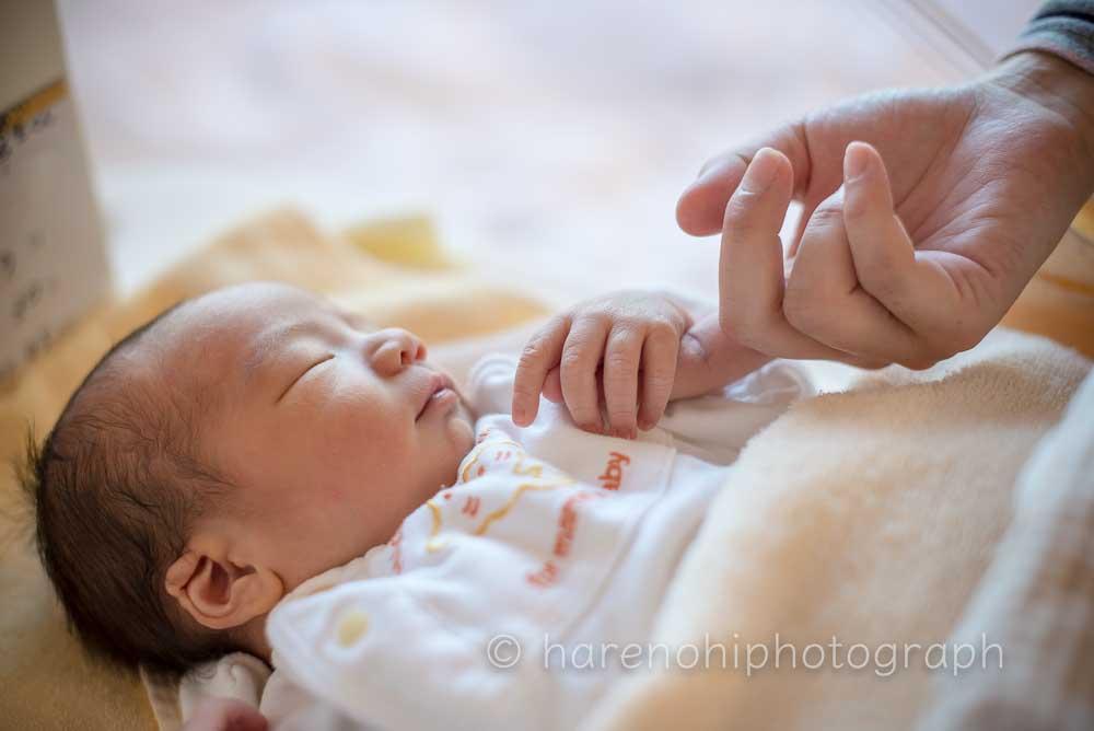 ハレノヒ写真のニューボーンフォト1|出産・ファミリーフォト