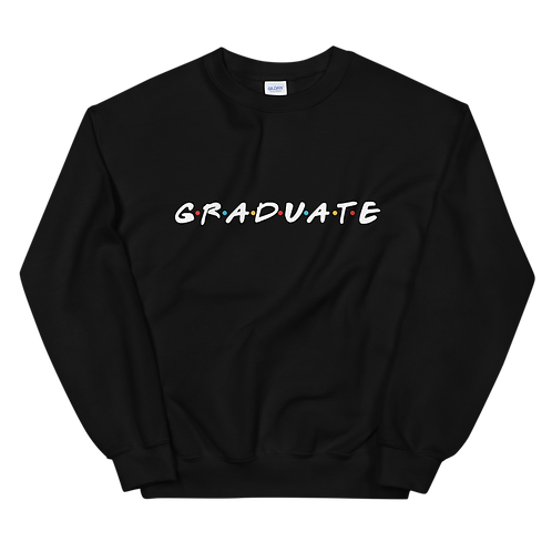 GRADUATE [Friends] - Sweatshirt (dark)