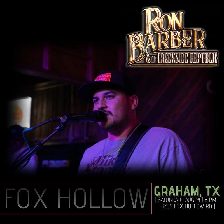 Ron Barber & The Creekside Republic Live