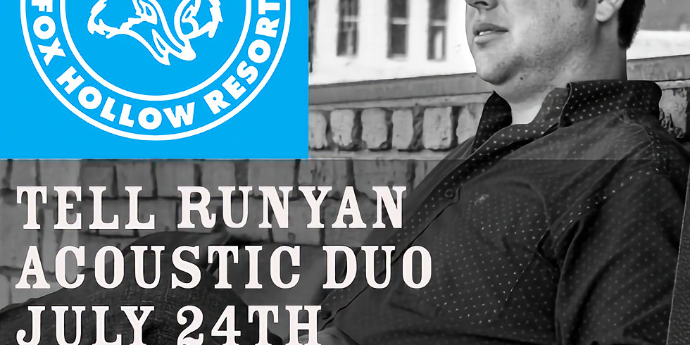 Tell Runyan Acoustic Duo Live