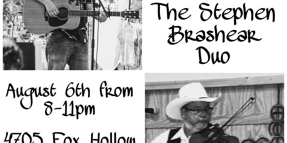 The Stephen Brashear Duo Live