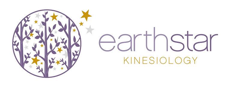 Earth Star Kinesiology logo banner