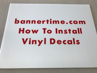 How to install your decals.